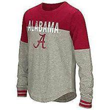 """Alabama Crimson Tide Girls """"Baton"""" Long  Sleeve T-Shirt"""