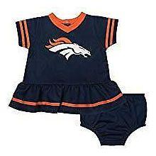 Denver Broncos Infant Dazzle Dress & Panty