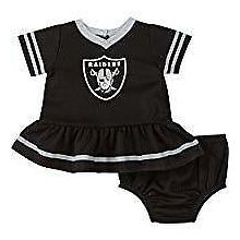 Oakland Raiders Infant Dazzle Dress & Panty