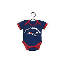 New England Patriots Baby Bodysuit Ornament