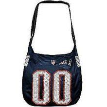 New England Patriots Navy Blue Veteran Jersey Tote Bag