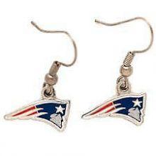 New England Patriots Logo Dangle Earrings