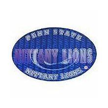 """Penn State Nittany Lions 3-D 9"""" X 6"""" Oval Ultradepth Hologram Magnet"""