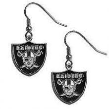 Oakland Raiders Logo Dangle Earrings