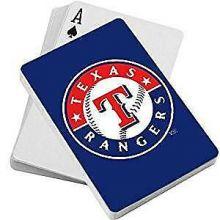 Texas Rangers Diamond Plate Playing Cards