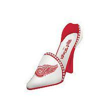 Detroit Red Wings Wine Shoe Bottle Holder