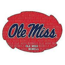NCAA Ole Miss Rebels Team Color Breakaway Lanyard Key Chain