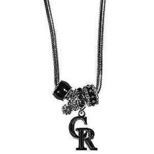 Colorado Rockies Euro Bead Charm Necklace