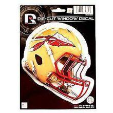 """Florida State Seminoles 6"""" Helmet Die-Cut Window Decal"""