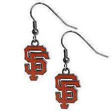 San Francisco Giants Logo Dangle Earrings