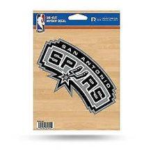 """San Antonio Spurs 5"""" x 6"""" Die-Cut Window Decal"""