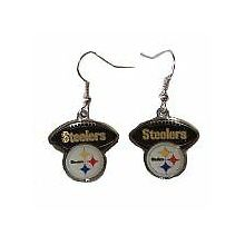 Pittsburgh Steelers Football Style Dangle Earrings