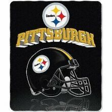 "Pittsburgh Steelers 50"" x 60"" Gridiron Fleece Throw Blanket"