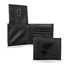 St Louis Blues Leather Bifold Wallet Billfold