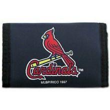 St. Louis Cardinals Tri-Fold Nylon Wallet