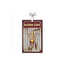 Arizona State Sundevils Corrugated Metal Ornament