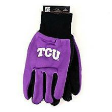 Texas Christian Horned Frogs Team Color Utility Gloves
