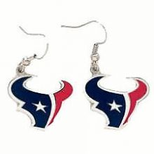 Houston Texans Logo Dangle Earrings