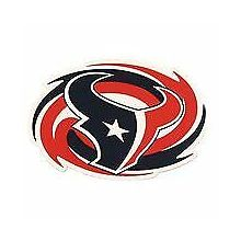 "Houston Texans 11"" X 8"" Swirl Sport Magnet"