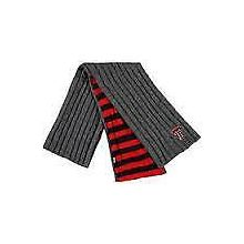 Texas Tech Red Raiders Charcoal Varsity Pocket Scarf