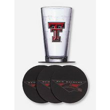 Texas Tech Red Raiders Pint and Coaster Set