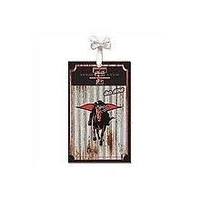 Texas Tech Red Raiders Corrugated Metal Ornament