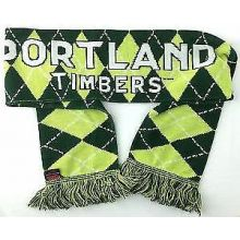 MLS Portland Timbers Argyle Fringed Scarf