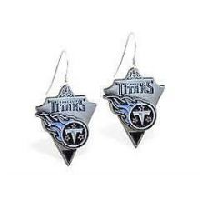 Tennessee Titans Pennant Dangle Earrings