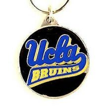 UCLA Bruins Oval Carved Metal Keychain