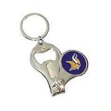 Minnesota Vikings 3-in-1 Nailclipper Keychain