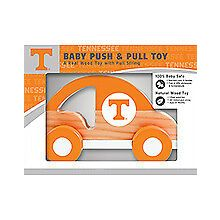 Tennessee Volunteers Push & Pull Wood Toy