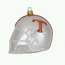 Tennessee Volunteers Glass Helmet Ornament