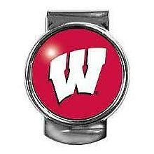 Wisconsin Badgers Dome Money Clip