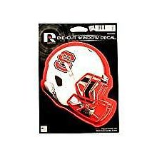 "North Carolina State Wolfpack 6"" Helmet Die-Cut Window Decal"