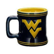 West Virginia Mountaineers Mini Mug 2 oz Shot Glass