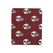 "Arizona Cardinals 50"" x 60"" 3 Bar Repeating Pattern Fleece Throw Blanket"