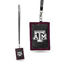 NCAA Texas A&M Aggies Carabiner Lanyard Key Chain