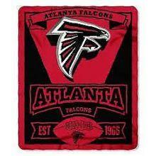 """Atlanta Falcons 50"""" x 60"""" Marque Fleece Throw Blanket"""