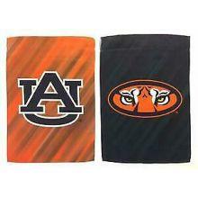 "Auburn Tigers Double Sided Sub Suede Flag 29"" X 43"""