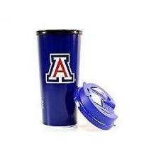 Arizona Wildcats Dual Logo 16-ounce Insulated Travel Mug