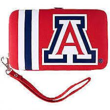 "Arizona Wildcats Distressed Wallet Wristlet Case (3.5"" X .5"" X 6"")"
