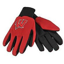 Wisconsin Badgers Team Color Utility Gloves