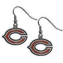 Chicago Bears Logo Dangle Earrings