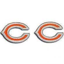 Chicago Bears Logo Stud Earrings