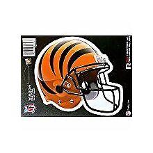 """Cincinnati Bengals 6"""" Helmet Die-Cut Window Decal"""