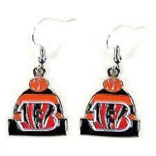 Cincinnati Bengals Beanie Style Dangle Earrings