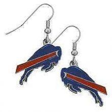Buffalo Bills Logo Dangle Earrings