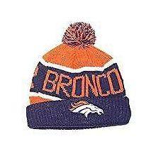 Denver Broncos Calgary Orange Cuff Beanie