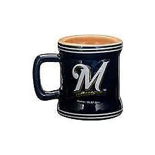 Milwaukee Brewers Mini Mug 2 oz Shot Glass