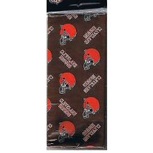 Cleveland Browns  Gift Wrap Sheets 12.5 sq. ft.